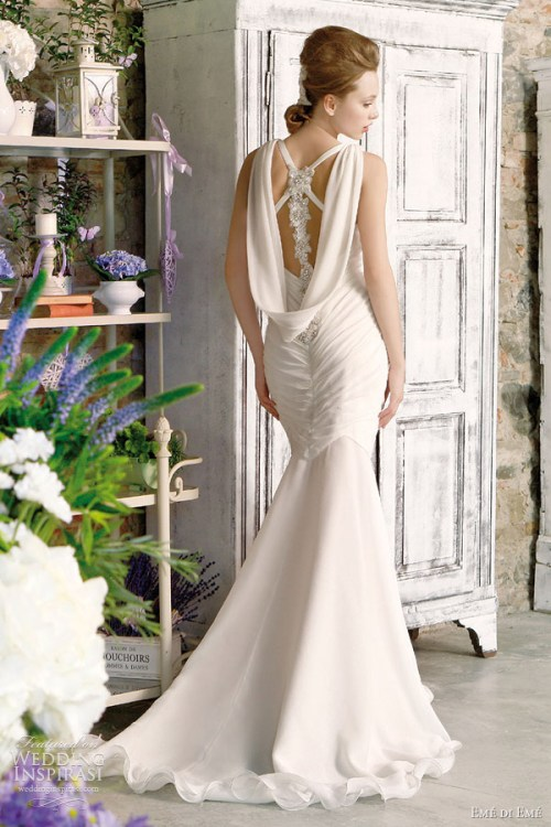 eme di eme wedding dress with amazing back detail