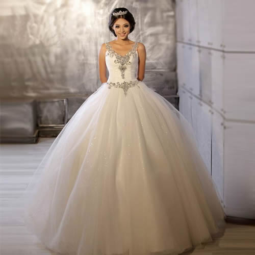 Vintage Princess Wedding Dresses For Elegantly Classical
