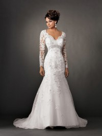 Romantic Wedding Dresses with Lace Sleeves | Sang Maestro