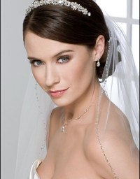 Wedding Tiara Hairstyle