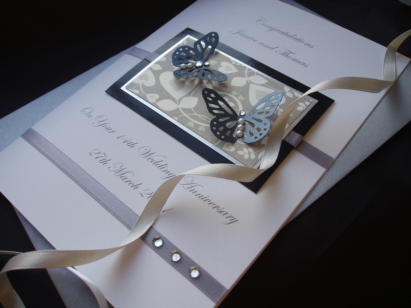 Elegant wedding anniversary cards for husband sang maestro