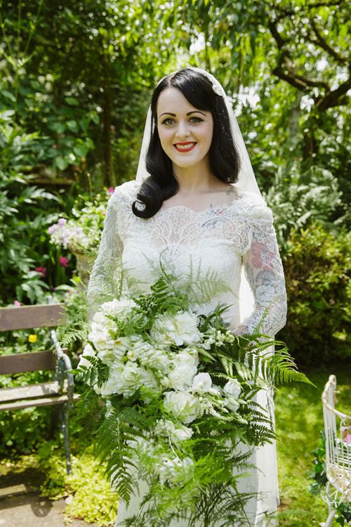 Vintage 40s Style Wedding Dresses : S style wedding dresses for vintage themed sang maestro