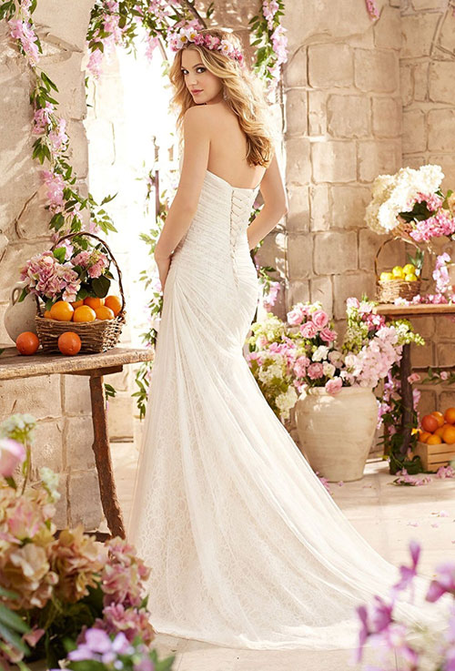cheap mermaid sweetheart wedding dress under 100