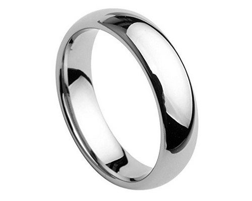 mens tungsten wedding band size 16