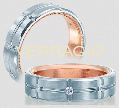 verragio men's wedding band with diamonds