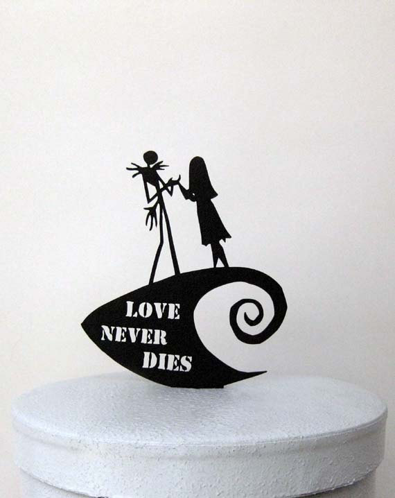 jack and sally love never dies wedding cake topper.jpg