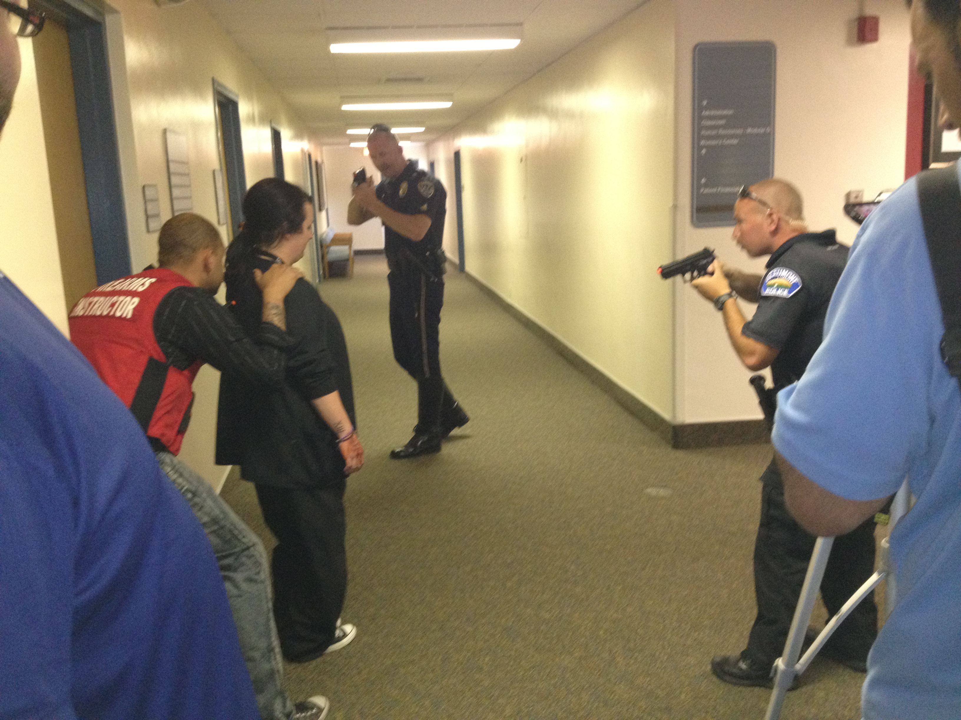 San Gorgonio Memorial Hospital Holds Active Shooter Drill