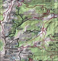 wilderness map peak james forest colorado arapaho maps