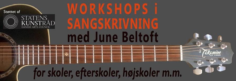 Sangskrivning v. Huskunstner June Beltoft