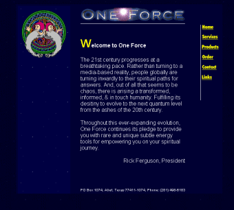 A complete reskin of an existing HTML website.