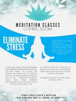 Flyer Meditation Classes