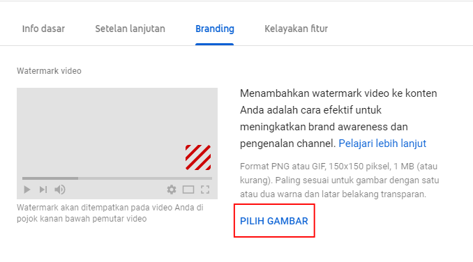Memasang Logo Langganan/Subscribe pada Video Youtube |
