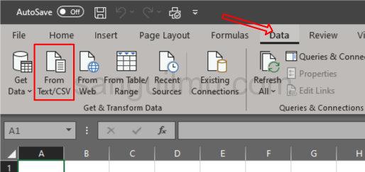 Cara Membuka File CSV di Excel dengan Rapi |