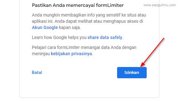 Cara Otomatis Menutup Google Formulir