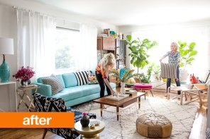 Bright furniture and accents