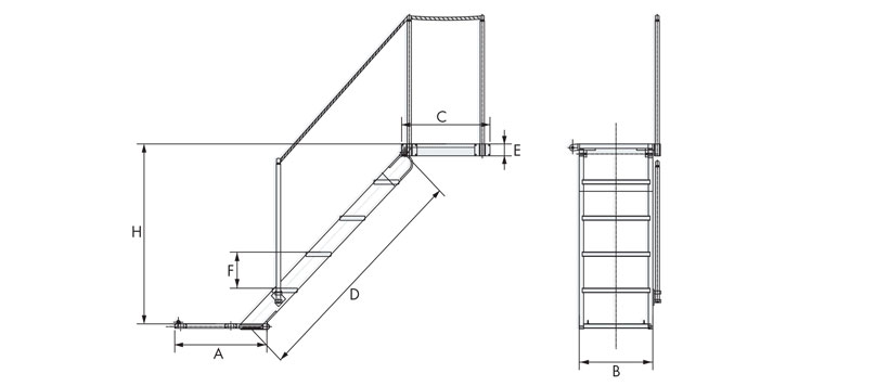 Technical-design-of-manual-vintage-boarding-ladders-for