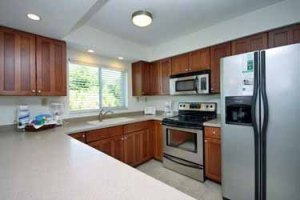 Kitchen at our new listing at Island Beach Club #310C