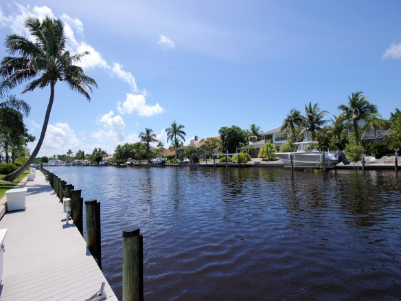 Mariner Pointe dockage, near Sanibel Marina