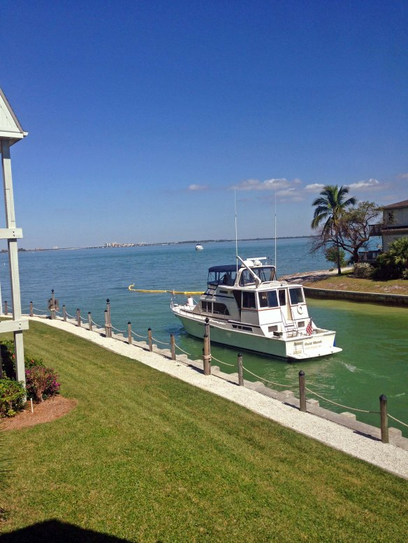 This is the view from the Mariner Pointe condo that closed on Tues (SanibelSusan's sale)