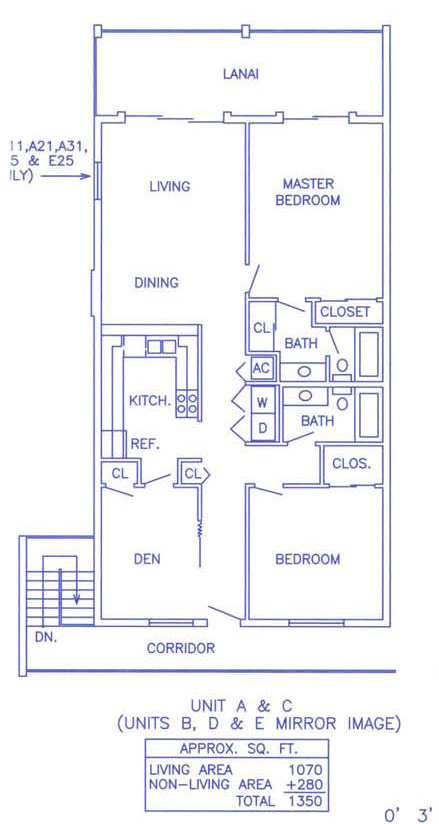 White Sands Unit C Floorplan
