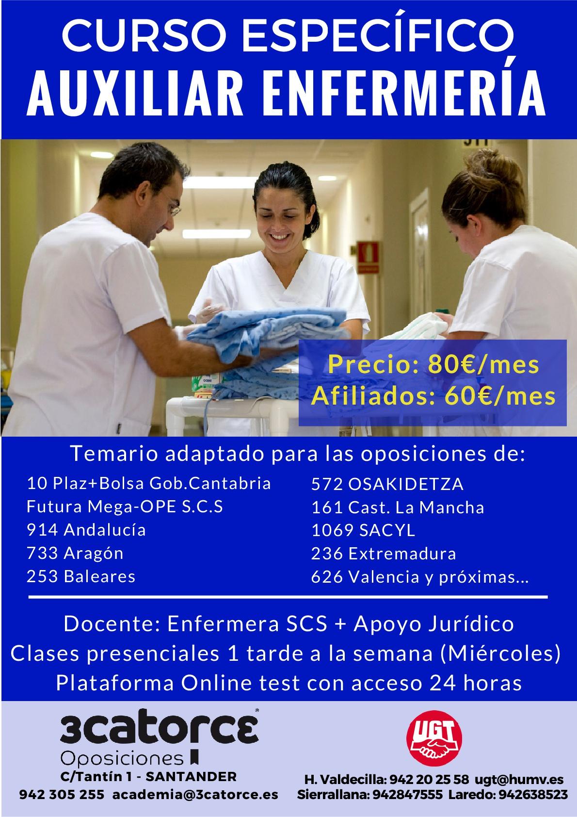 UGT INICIA CURSO PREPARACION OPES DE TODOS LOS SERVICIOS