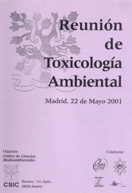 Reunión de Toxicología Ambiental