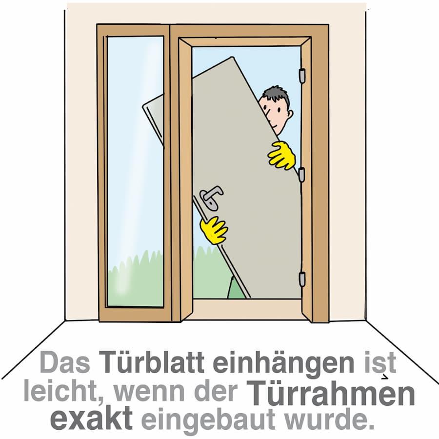 Bevorzugt Haustür Dämmen Anleitung | Haustür Einbauen Alle Kosten Daten Und SS08