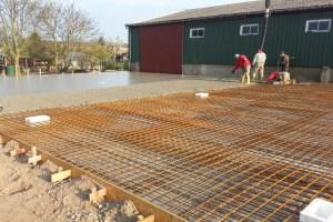 Neubau · Fundament und Bodenplatte für Landmaschinenhalle Hof Redentin
