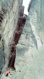 Die versteckte steinerne Treppe (I)
