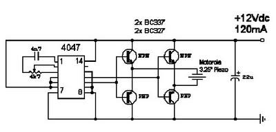 Rangkaian Elektronika, Pengusir Serangga Elektronik