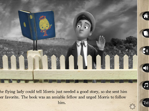 Interactive storybook on the iPad
