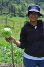 Participante de huertos familiares, Angochagua