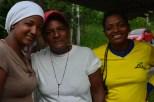 Participantes de huertos familiares en Lita