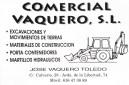 Comercial Vaquero