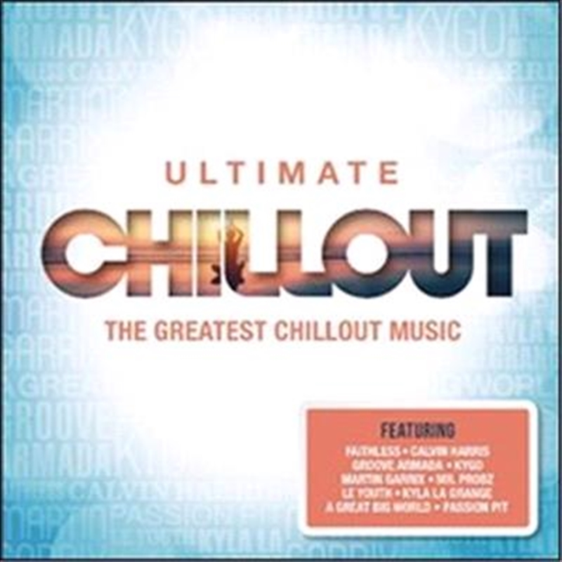 Ultimate Chillout By Various, Compilation, Cd  Sanity