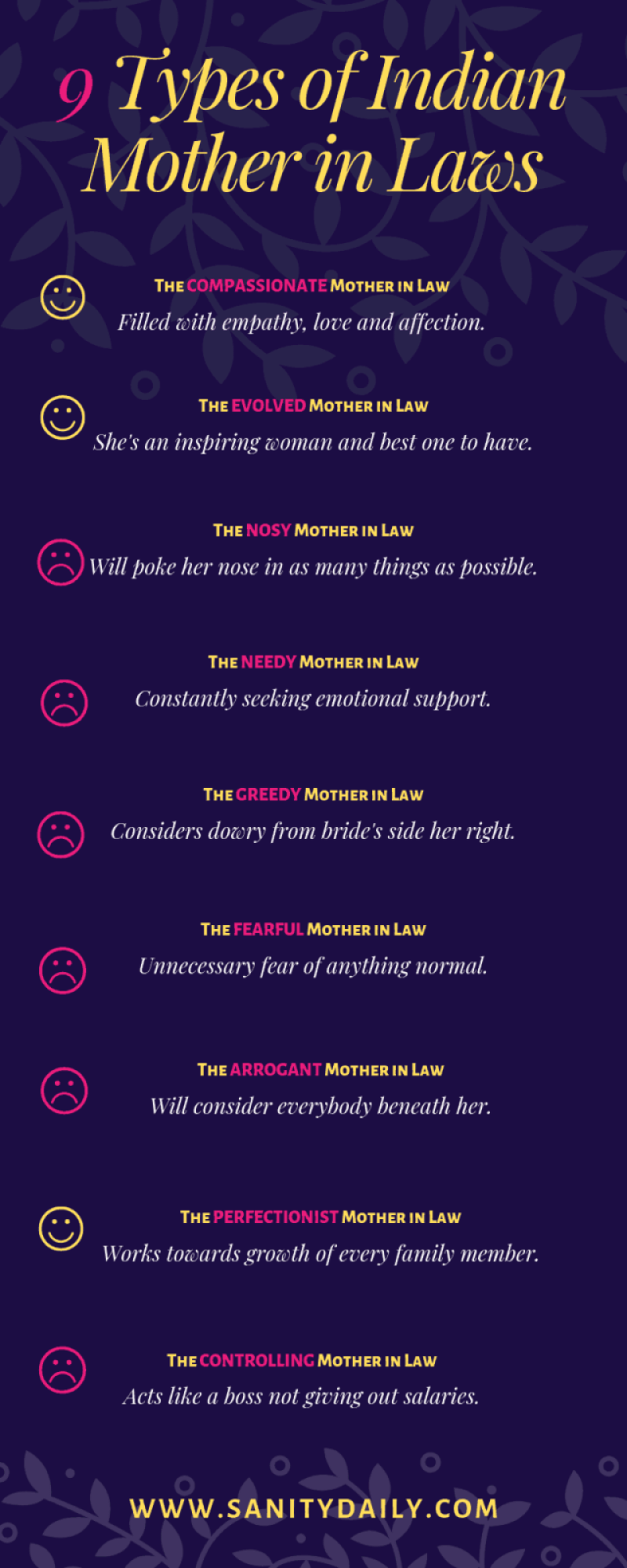 9 Types of Indian Mother in Laws