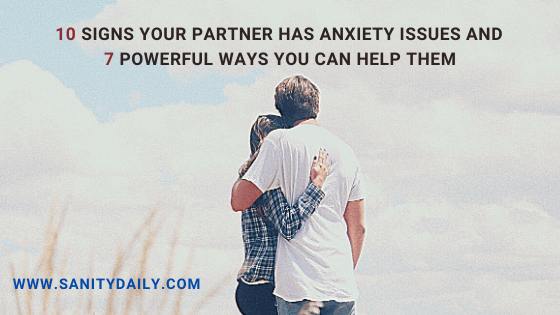 How to help your partner with anxiety?