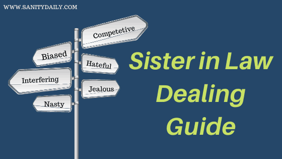 Sister in law dealing guide