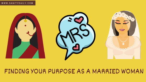 Finding your purpose as a married woman