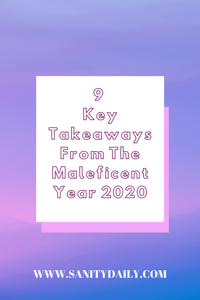 key takeaways from the year 2020
