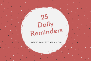 Sanity Daily Store