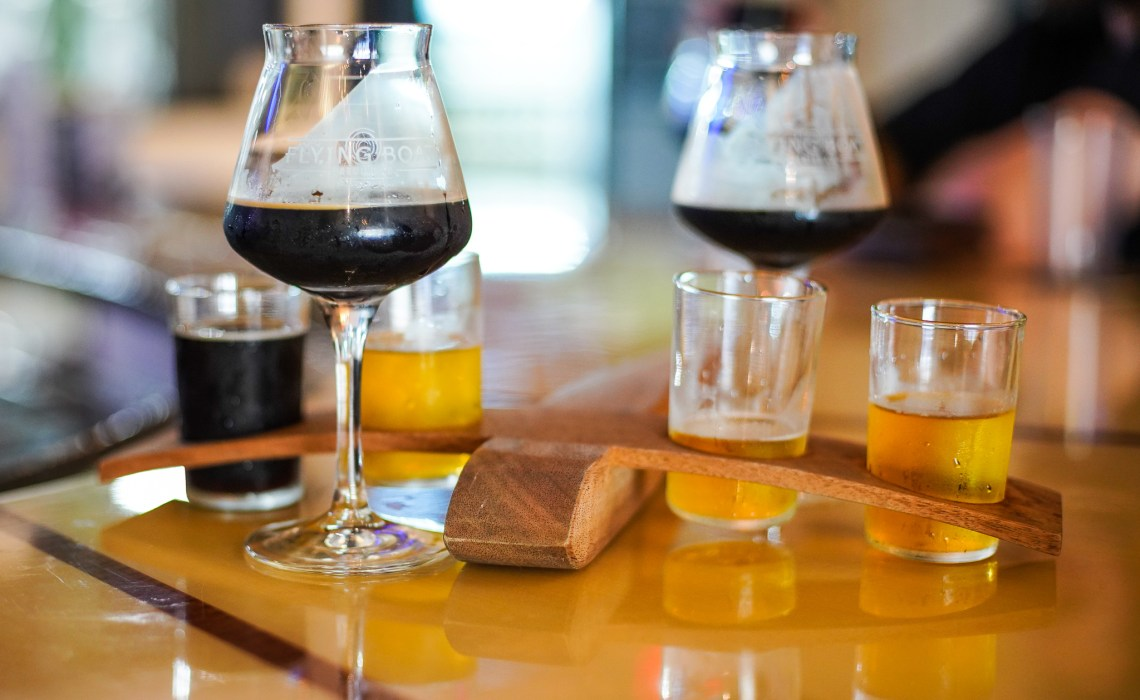 A taste of the Flying Boat Brewery – St Pete Florida