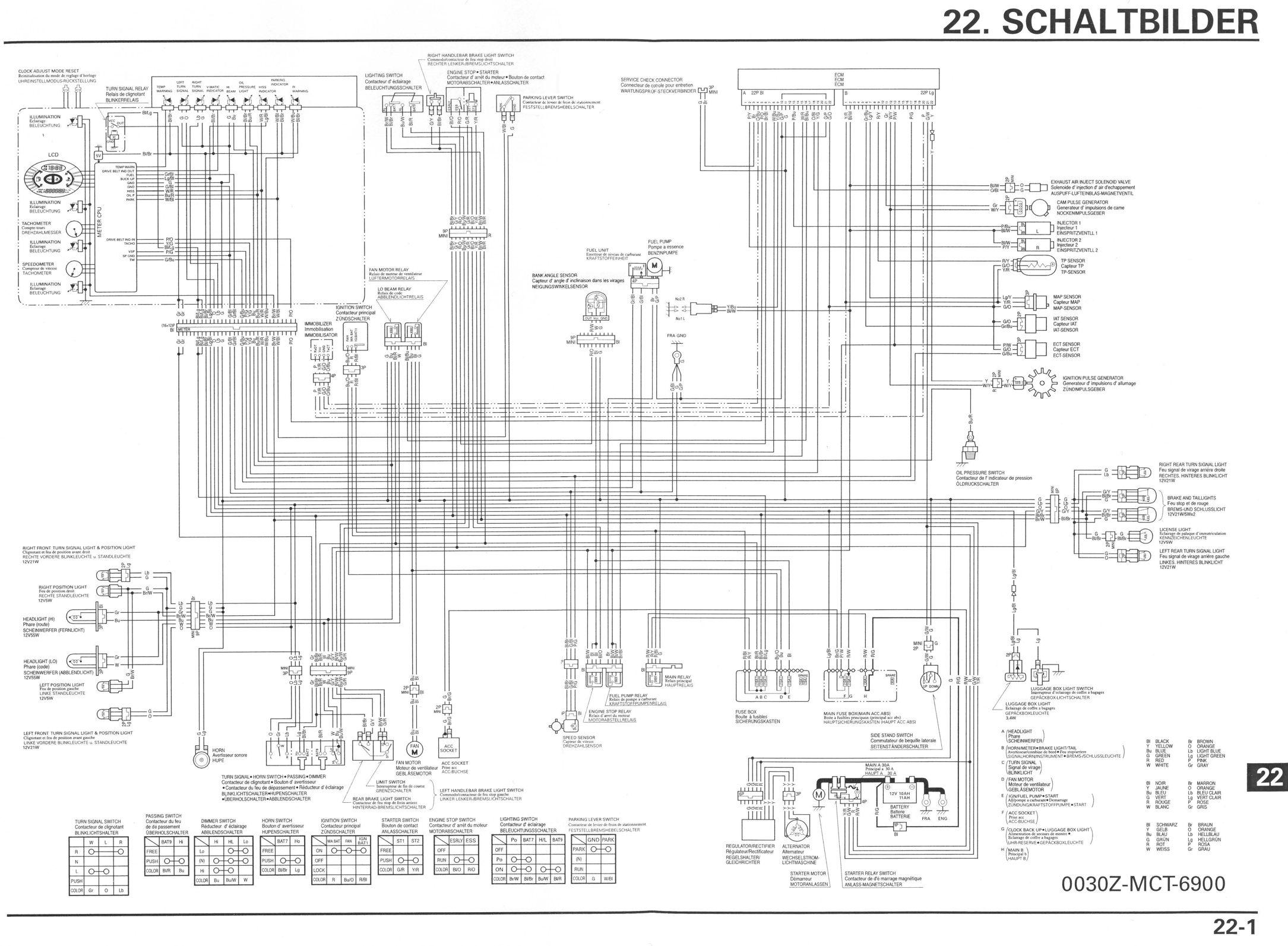 [DIAGRAM] Honda Silver Wing 600 Wiring Diagram FULL