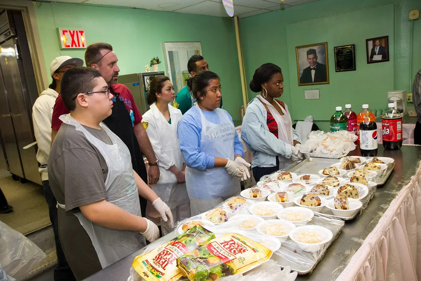 Soup Kitchens are sponsored by the Sanjay Anand Charitable Foundation twice a week