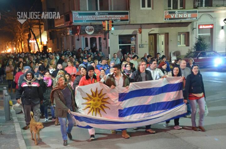 Comerciantes de CDP apoyan marcha de San José