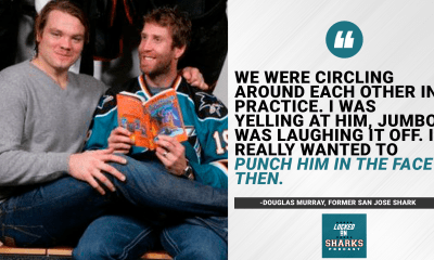 Douglas Murray and Joe Thornton
