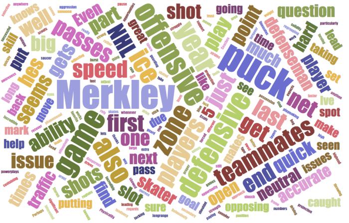 Ryan Merkley San Jose Sharks scouting report