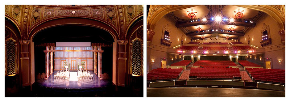 Weddings at the California Theatre in San Jose CA