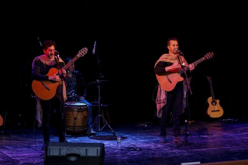 Semana de shows en Espartaco