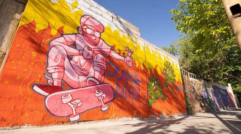 Los murales recobran vida y concientizan a la comunidad
